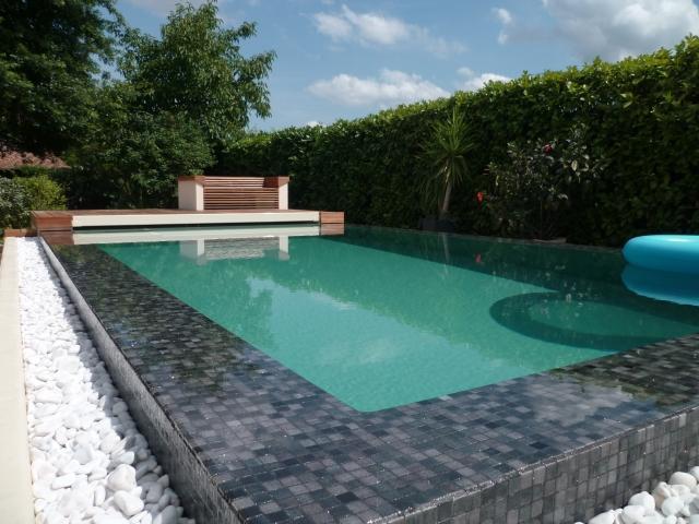 Djerba piscine d bordement djerba fluides - Prix piscine miroir ...